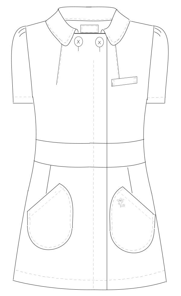 KM-2152 フロントスタイルイラスト