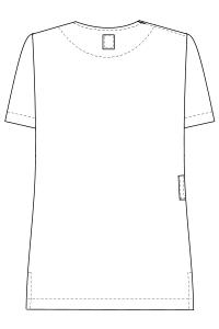 LBL4372 バックスタイルイラスト