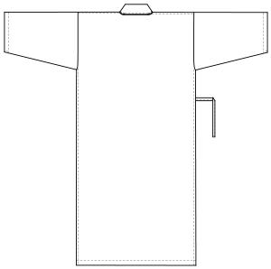 LG-1470 バックスタイルイラスト