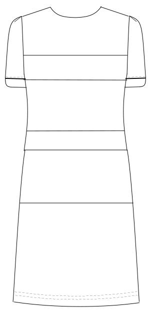 LH-6207 バックスタイルイラスト