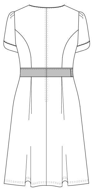 LH-6227 バックスタイルイラスト