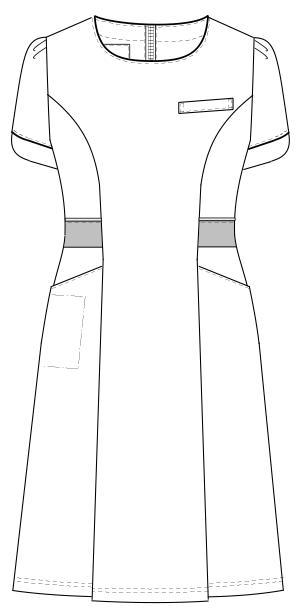 LH-6227 フロントスタイルイラスト