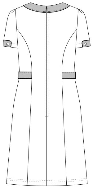 LH-6237 バックスタイルイラスト