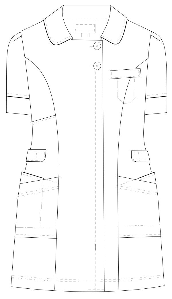 LH-6242 フロントスタイルイラスト