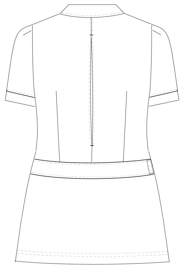 LH-6252 バックスタイルイラスト