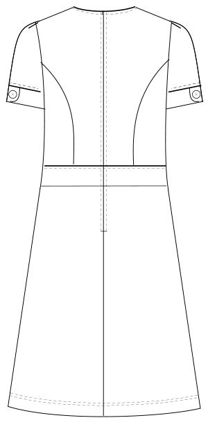 LH-6257 バックスタイルイラスト