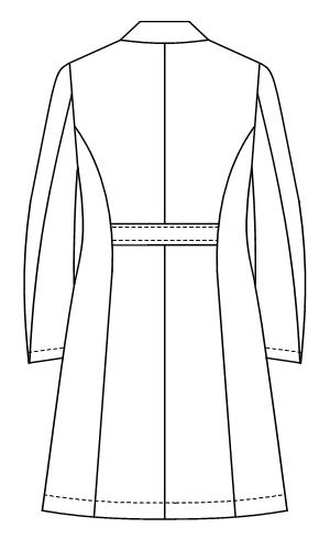 LH-6260 バックスタイルイラスト