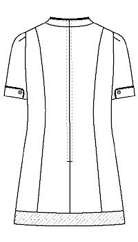 LH-6282 バックスタイルイラスト