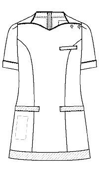 LH-6282 フロントスタイルイラスト
