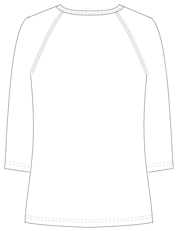 LI-5097 バックスタイルイラスト