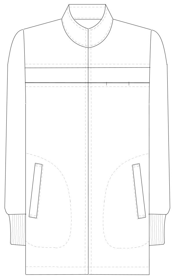 LK-2860 フロントスタイルイラスト