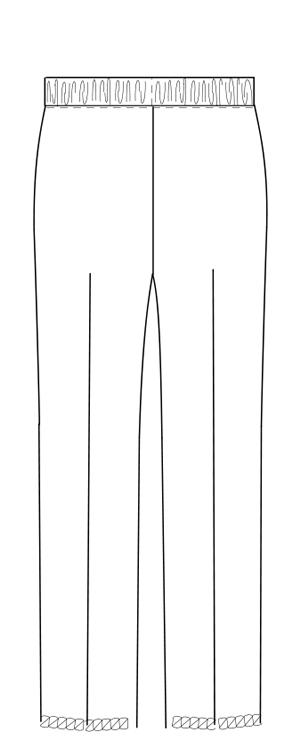LX-4013 バックスタイルイラスト