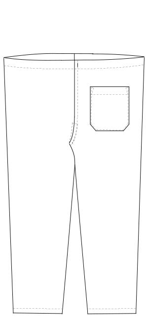 MF-8303 バックスタイルイラスト