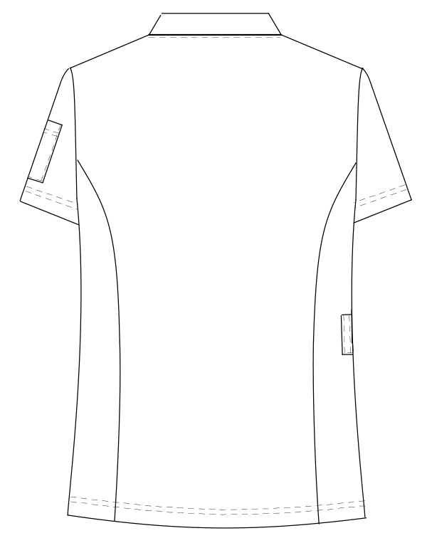 MFF-5832 バックスタイルイラスト