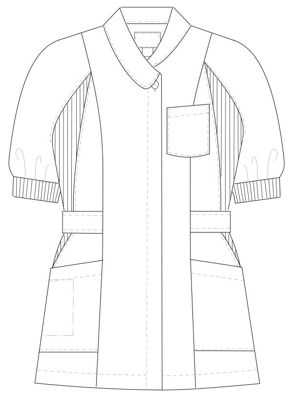 MI-4612 フロントスタイルイラスト