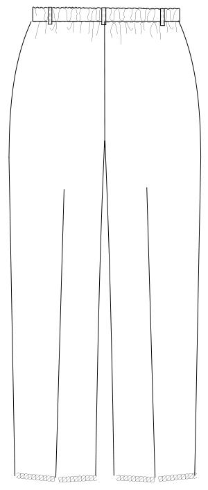 MI-4613 バックスタイルイラスト