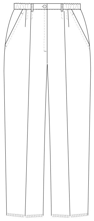 MI-4613 フロントスタイルイラスト