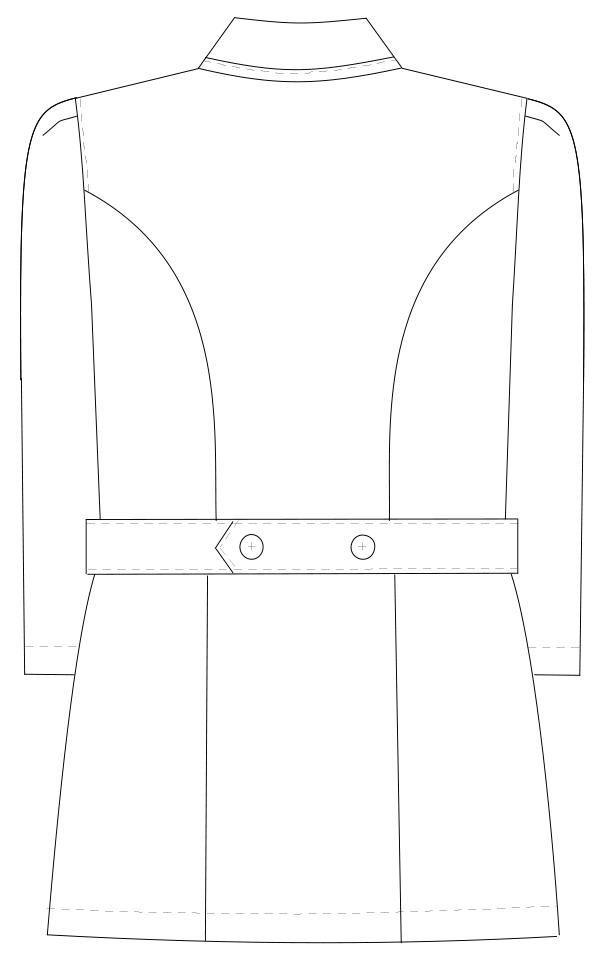 MI-4631 バックスタイルイラスト