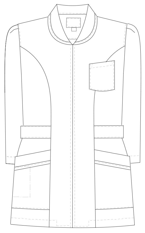 MI-4631 フロントスタイルイラスト