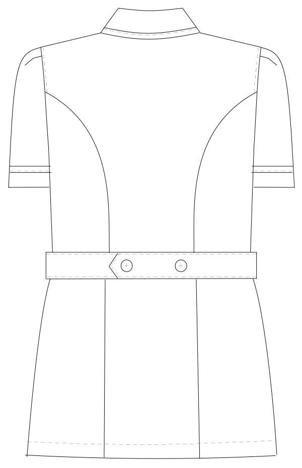 MI-4632 バックスタイルイラスト