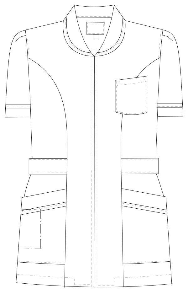 MI-4632 フロントスタイルイラスト