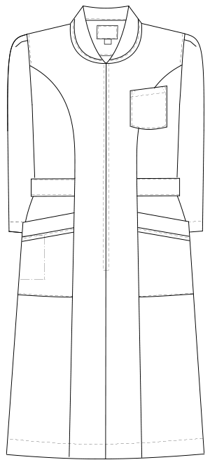 MI-4636 フロントスタイルイラスト