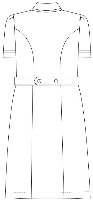 MI-4637 バックスタイルイラスト