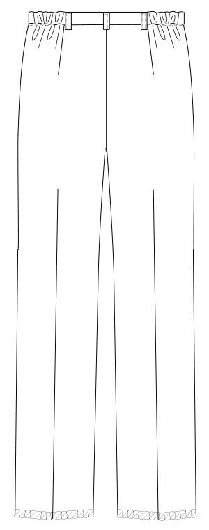 ML-1123 バックスタイルイラスト