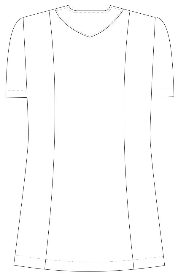 NR-8657 バックスタイルイラスト