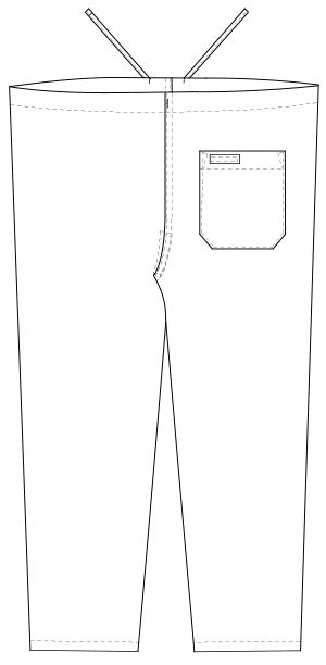 NR-8703 バックスタイルイラスト