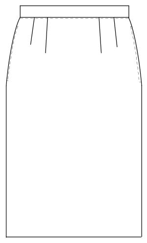 OA-6013 フロントスタイルイラスト