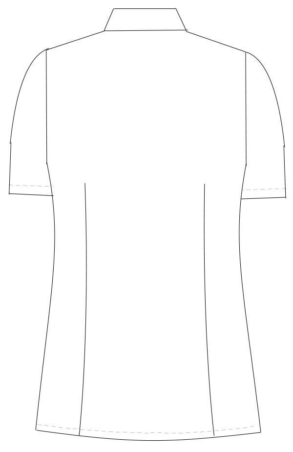OB-6002 バックスタイルイラスト