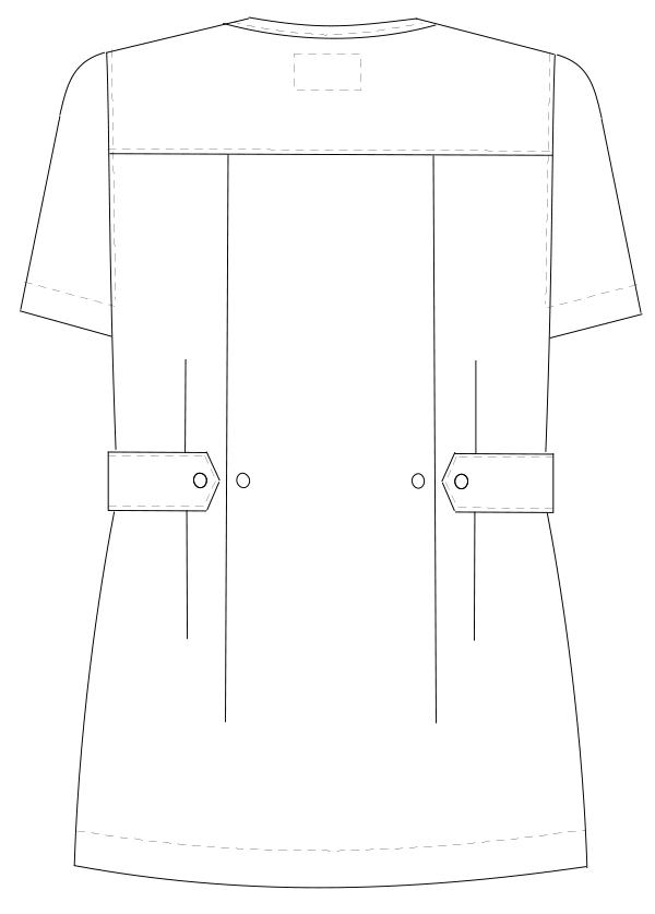 OR-8402 バックスタイルイラスト
