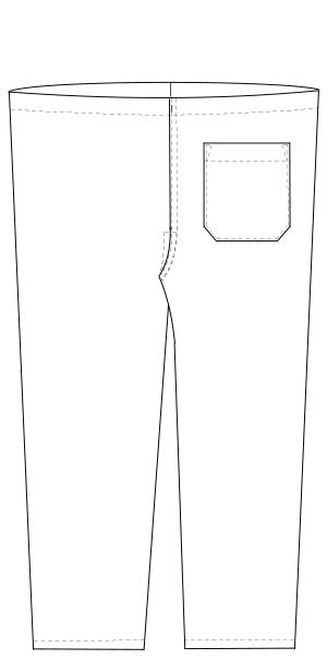 PD-3493 バックスタイルイラスト