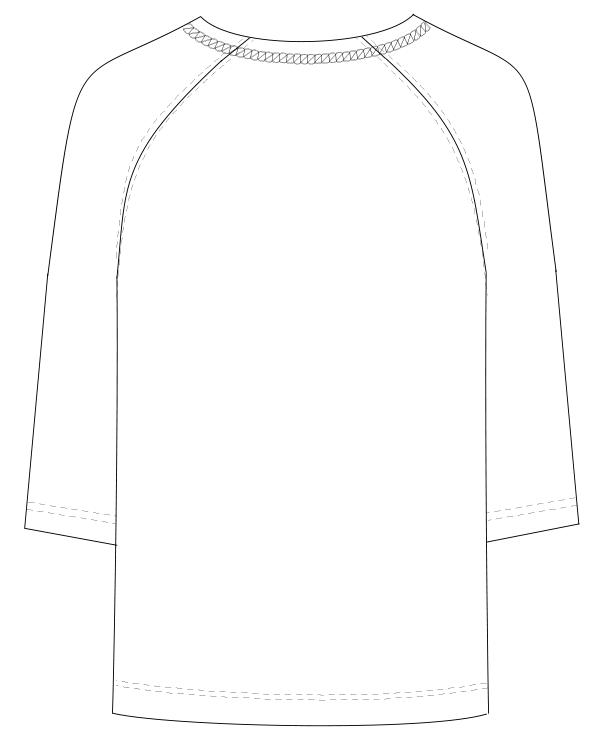 PK-1421 バックスタイルイラスト