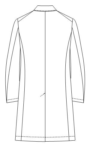 SD-3410 バックスタイルイラスト