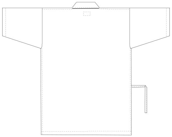 SG-1441 バックスタイルイラスト
