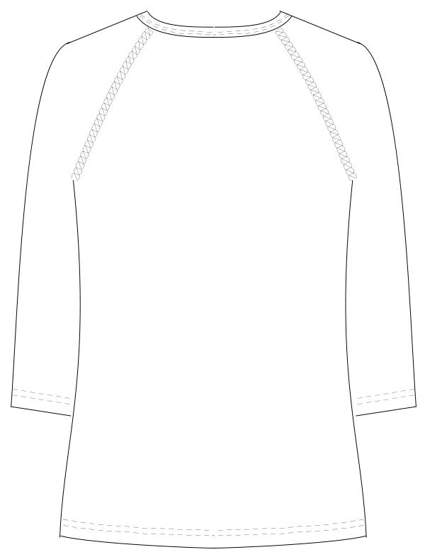 SI-5077 バックスタイルイラスト