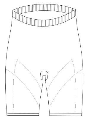 SKF-7023 フロントスタイルイラスト