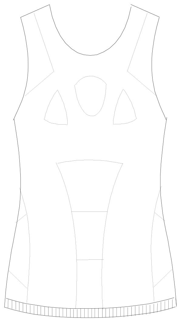 SKF-7032 フロントスタイルイラスト