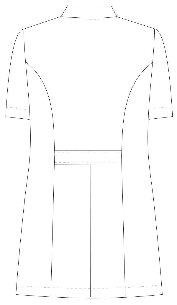 TS-2087 バックスタイルイラスト