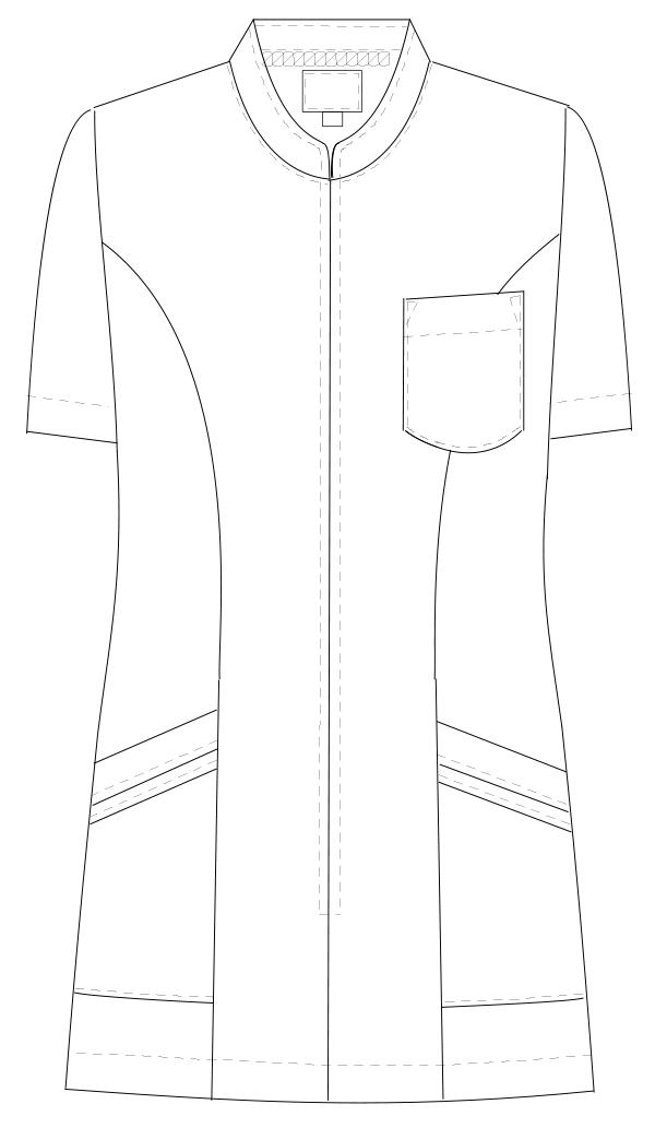 TS-2087 フロントスタイルイラスト