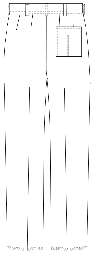 USA-90 バックスタイルイラスト