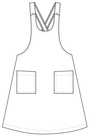 YHC-1288 フロントスタイルイラスト