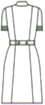 CA-1717 バックスタイルイラスト