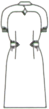 CA-1757 バックスタイルイラスト