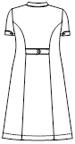 EH-3767 バックスタイルイラスト