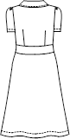 KM-2157 バックスタイルイラスト
