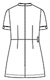 LH-6292 バックスタイルイラスト