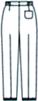 SJ-2983 バックスタイルイラスト